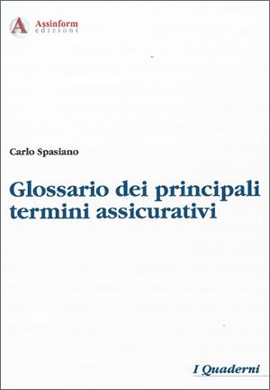 glossario termini assicurativi